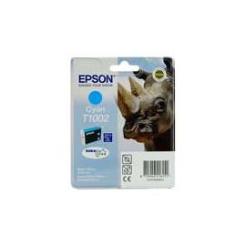 Cartucho de tinta  Original EPSON CIAN E1002, reemplaza a C13T10024010 - Imagen 1