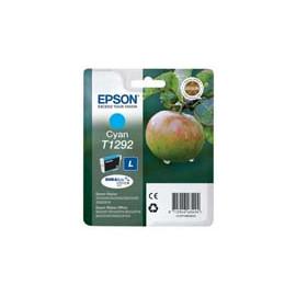 Cartucho de tinta  Original EPSON CIAN E1292, reemplaza a C13T12924010 - Imagen 1