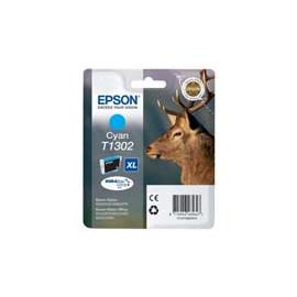 Cartucho de tinta  Original EPSON CIAN E1302, reemplaza a C13T13024010 - Imagen 1