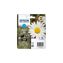 Cartucho de tinta  Original EPSON CIAN E1802, reemplaza a C13T18024010 nº18 - Imagen 1