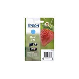 Cartucho de tinta  Original EPSON CIAN E2982, reemplaza a C13T29824010 nº29 - Imagen 1