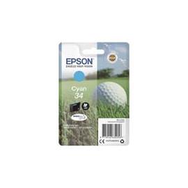 Cartucho de tinta  Original EPSON CIAN E3462, reemplaza a C13T34624010 nº34 - Imagen 1