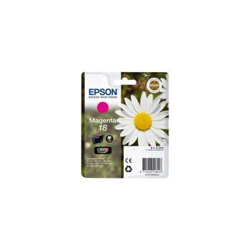 Cartucho de tinta  Original EPSON MAGENTA E1803, reemplaza a C13T18034010 nº18 - Imagen 1