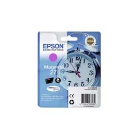Cartucho de tinta  Original EPSON MAGENTA E2703, reemplaza a C13T27034010 nº27 - Imagen 1