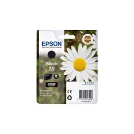 Cartucho de tinta  Original EPSON NEGRO E1801, reemplaza a C13T18014010 nº18 - Imagen 1