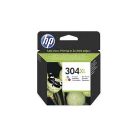 Cartucho de tinta  Original HP 3 COLORES H304XLC, reemplaza a N9K07AE nº304XL - Imagen 1