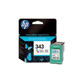 Cartucho de tinta  Original HP 3 COLORES H343, reemplaza a C8766EE nº343 - Imagen 1