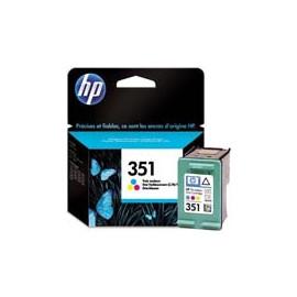 Cartucho de tinta  Original HP 3 COLORES H351, reemplaza a CB337EE nº351 - Imagen 1