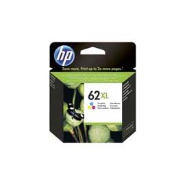 Cartucho de tinta  Original HP 3 COLORES H62XLC, reemplaza a C2P07AE nº62XL C - Imagen 1