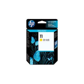 Cartucho de tinta  Original HP AMARILLO H11Y, reemplaza a C4838AE nº11 Y - Imagen 1