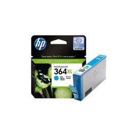 Cartucho de tinta  Original HP CIAN H364XLC, reemplaza a CB323EE - Imagen 1