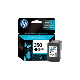 Cartucho de tinta  Original HP NEGRO H350, reemplaza a CB335EE nº350 - Imagen 1