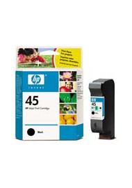 Cartucho de tinta  Original HP NEGRO H45, reemplaza a 51645A nº45 - Imagen 1