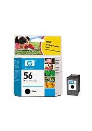 Cartucho de tinta  Original HP NEGRO H56, reemplaza a C6656A nº56 - Imagen 1