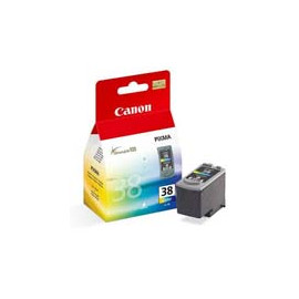 Cartucho de tinta  Original Canon 3 COLORES C38, reemplaza a CL38 - 2146B001 - Imagen 1