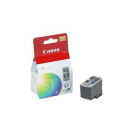 Cartucho de tinta  Original Canon 3 COLORES C51, reemplaza a CL51 - 0618B001 - Imagen 1