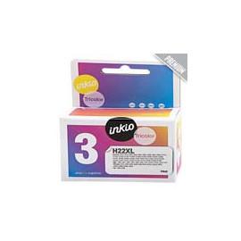 Cartucho de tinta  Reciclado calidad Premium HP 3 COLORES H22XL, reemplaza a C9352CE nº22XL - Imagen 1