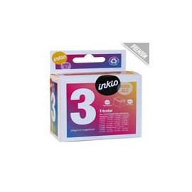 Cartucho de tinta  Reciclado calidad Premium HP 3 COLORES H300XLC, reemplaza a CC644EE nº300XL - Imagen 1