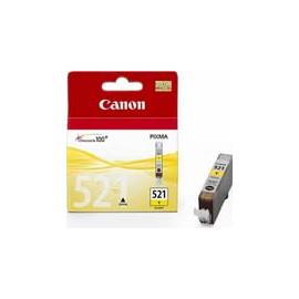 Cartucho de tinta  Original Canon AMARILLO C521Y, reemplaza a CLI-521Y - 2936B001 - Imagen 1