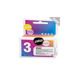 Cartucho de tinta  Reciclado calidad Premium HP 3 COLORES H343, reemplaza a C8766EE nº343 - Imagen 1