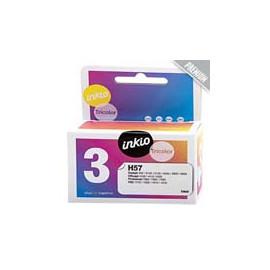 Cartucho de tinta  Reciclado calidad Premium HP 3 COLORES H57, reemplaza a C6657C nº57 - Imagen 1