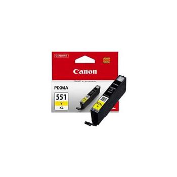 Cartucho de tinta  Original Canon AMARILLO C551XLY, reemplaza a CLI551XLY - 6446B001 - Imagen 1
