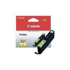 Cartucho de tinta  Original Canon AMARILLO C551Y, reemplaza a CLI551Y - 6511B001 - Imagen 1