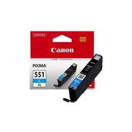 Cartucho de tinta  Original Canon CIAN C551XLC, reemplaza a CLI551XLC - 6444B001 - Imagen 1