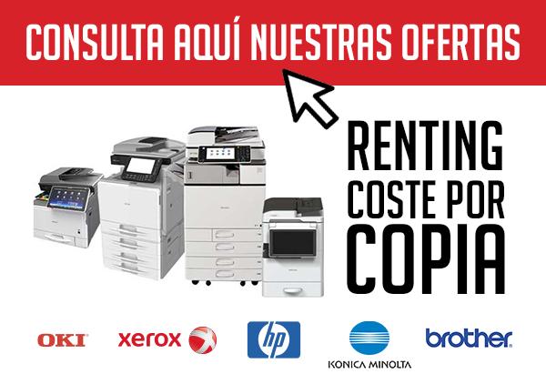 Con el coste por copia o impresión de MESTONER tendrás los mejores equipos del mercado